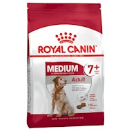 15kg Medium Adult 7+ Royal Canin Hundefoder