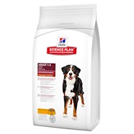 18 kg Adult Large Kylling Hill's Science Plan Hundefoder