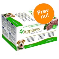 5x150 g Country Selection Dog Paté Applaws Hundefoder