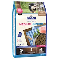 3 kg Bosch Medium Junior Hundefoder