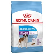 15 kg Giant Junior Active Royal Canin Size + Hundetæppe