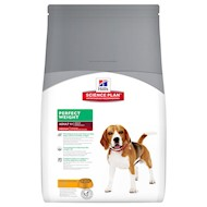 10 kg Perfect Weight Medium Adult Hill's Science Plan Hundefoder